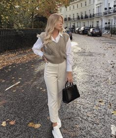 Uni Outfits, Winter Fashion Outfits, Everyday Outfits, Look Fashion, Fall Outfits, Elegantes Business Outfit, Elegantes Outfit, Business Casual Outfits, Cute Casual Outfits