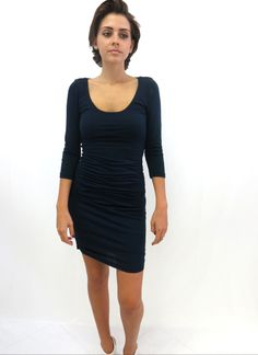 597858e224277 boutique flirt - Velvet Opal Dress Midnight