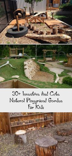 Inventive And Cute Natural Playground Garden For Kids – Pinokyo, – Diy Garden İdeas Outdoor Play Areas, Outdoor Fun, Natural Outdoor Playground, Garden Types, Backyard For Kids, Diy Garden Ideas For Kids, Garden Kids, Kids Play Area, Outdoor Classroom
