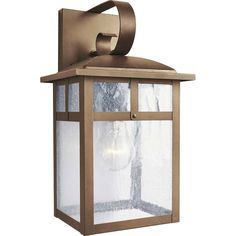 You'll love the 1 Light Outdoor Wall Lantern at Wayfair - Great Deals on all Lighting  products with Free Shipping on most stuff, even the big stuff.