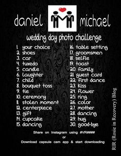photo challenge: to help with downtime and you would be amazed at the talent of friends especially when their is a prize and bragging rights involved! Suprise Wedding, Wedding Wishes, Our Wedding, Dream Wedding, Wedding Bells, Wedding Strawberries, Strawberry Wedding, Party Planning, Wedding Planning