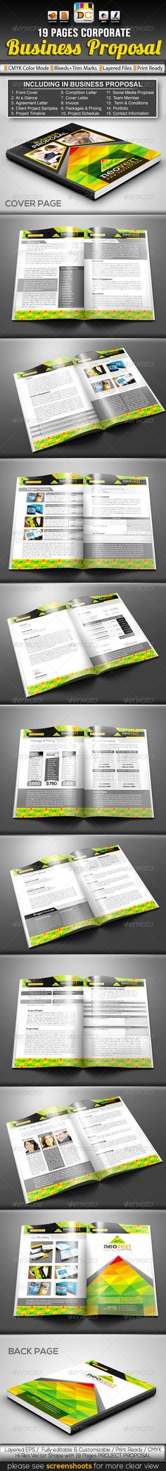 Invoice Template - business proposal cover sheet