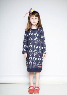 Modeerska Huset aw15 Deep Forest Dress