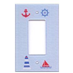 Nautical Decorative Light Switch Cover