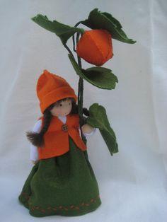 Deko-Objekte - Blumenkind-Lampion Physalis f.d. Waldorf-Jah... - ein Designerstück von Blumenkinder-Unikate bei DaWanda