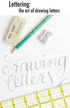 alisaburke- lettering series with Megan Wells!
