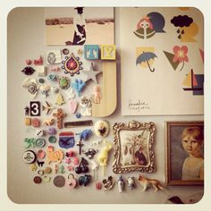 Details, collections, interesting little things to ponder.