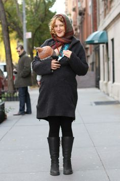 Breastfeeding & babywearing in a Beco Paige!!!!  The Humans of New York Project is an effort to create a photographic census of the city of New York, with an eye toward creating artistic portraits of strangers on the street. Over 3000 street portraits have been gathered thus far.  Website  http://www.humansofnewyork.com