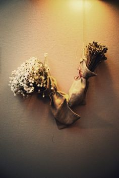 wall decoration - dry flowers