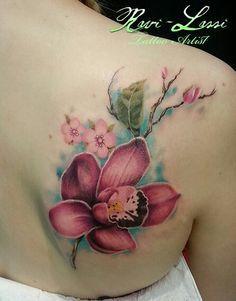 tatuagem de orquidea - Pesquisa Google