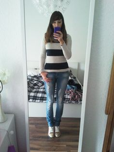 Casual Look #2 Shirt - Otto Jeans - MisterLady Jeans Schuhe - Esprit