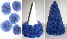 Елка своими руками может быть создана из любого подручного материала: из бумаги, ниток, ткани и другого. Некоторые можно сделать всего за 10 минут!