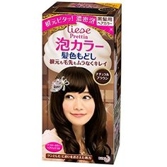 Kao | Liese Prettia AWA Hair Color KAMI IRO MODOSHI | Natural Brown ** More info could be found at the image url. (This is an affiliate link and I receive a commission for the sales)