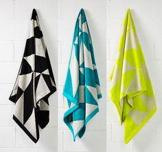 Aura Duo Bath Towel Range