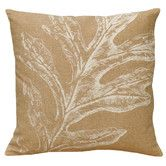 Found it at Wayfair - Oak Leaf 100% Linen Screen Print Pillow