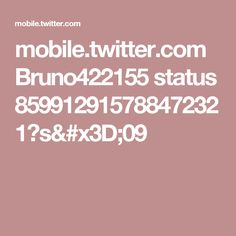 mobile.twitter.com Bruno422155 status 859912915788472321?s=09