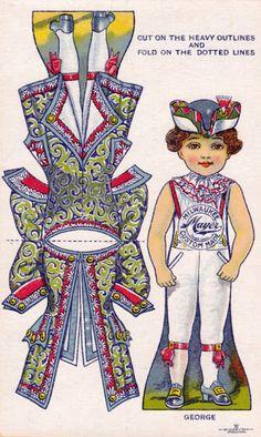 Trade Card cut-outs - papercat - Picasa Albums Web