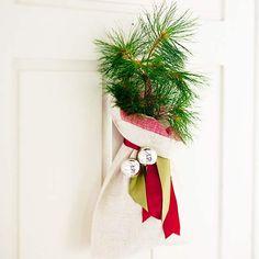 Mini Christmas Tree Door Decoration