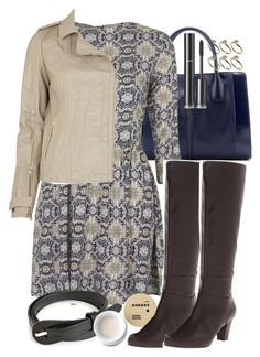 """Lydia Inspired Outfit with a Leather Jacket and Boots"" by veterization ❤ liked on Polyvore featuring Warehouse, Tod's, Topshop, River Island, Korres, Mootsies Tootsies and Chanel"