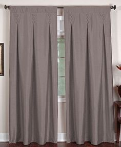 "for the bedroom  Elrene Window Treatments, Imperial 26"" x 95"" Panel - Curtains  Drapes - for the home - Macy's"