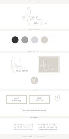 Brand reveal for Love, Lila Ann   Branding   Brand Board   Logo Design   Graphic Design   Design Inspiration   Logo Ideas   Brand Ideas   Website Design   Color Palette   August and White