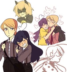 Felix and Marinette; I feel like adrien is a nicer version of Felix Miraculous Ladybug Fanfiction, Miraculous Ladybug Fan Art, Ladybugs Movie, Marinette And Adrien, Arte Disney, Ladybug Comics, Miraclous Ladybug, Star Vs The Forces Of Evil, Art Reference