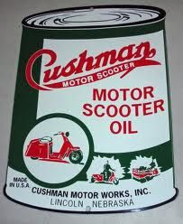 Cushman Motor Scooter Oil Can