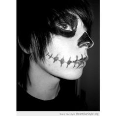 emo boys with black makeup and black hair who Im scared of ❤ liked on Polyvore featuring hair y people