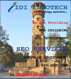 IDI Infotech is a leading SEO Company in Ahmedabad,India; providers of Best SEO and Top SEO Services and Cheap Search Engine Optimization. Seo Packages, Best Seo Company, Best Web Design, Ahmedabad, Seo Services, Search Engine Optimization, Web Development, India, Business