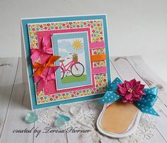 Really Reasonable Ribbon Blog: RRR Challenge #120 Sizzlin' Summer Colors with Ribbon or Trim Theme