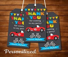 Race car Thank you favor tags, Race car party, Race car Birthday, Chalkboard - Digital Printable File by Uptownparty on Etsy Karate Birthday, Race Car Birthday, Race Car Party, Twin Birthday, Race Cars, Printable Invitations, Birthday Invitations, Birthday Chalkboard, Printed Materials