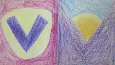 Waldorf ~ grade ~ Letter: V ~ Valley H Words, Chalkboard Drawings, Learning Resources, Grade 1, Language Arts, Alphabet, Kindergarten, Aurora Sleeping Beauty, Teacher