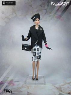Tenue Outfit Accessoires Pour Fashion Royalty Barbie Silkstone Vintage 1424 | eBay                                                                                                                                                      Plus