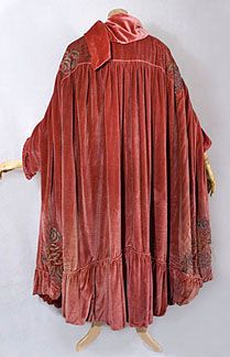 Stern Brothers Embroidered Edwardian Evening Cloak    c.1918