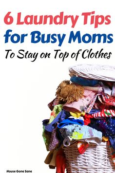 Are you a busy mom trying to keep laundry from piling up? Here are 6 laundry tips to help keep your families clothes under control. If a weekly laundry day isn't cutting it, maybe it's time to try something new. This post shares the laundry secrets one mom uses with a family of 6. #laundrytips #busymoms #momlife #laundryhacksformoms Daily Cleaning Checklist, House Cleaning Tips, Cleaning Hacks, Doing Laundry, Laundry Hacks, Family Of 6, Clothes Basket, Family Outfits, Laundry Detergent