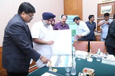 Infosys today announced it would start construction of its 25,000 seat Mohali facility within one month and complete the first stage of the project within 18 months.  Infosys Executive Vice President Ramadas Kamath gave this commitment to me during an interaction held here as part of the build up to the Invest Punjab summit being held in Mohali in October. he also showed me the building plans for the upcoming Mohali facility. #InvestPunjab #ShiromaniAkaliDal #SukhbirSinghBadal