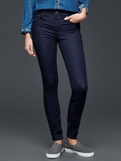 Gap Women 1969 Resolution True Skinny Jeans Size 27 Tall – Rinse