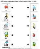 13 Best Photos of Of Land Transportation Printable Worksheets - Land Air Water Worksheets Transportation, Land Air Water Worksheets Transportation and Printable Preschool Transportation Worksheets Toddler Learning, Preschool Learning, Preschool Activities, Transportation Worksheet, Transportation Activities, Preschool Printables, Preschool Worksheets, Transport Routier, Teaching Tools