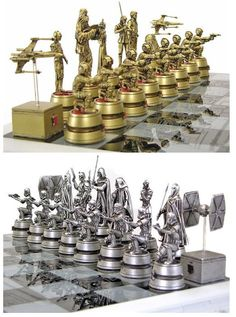 Star Wars Chess Set...will be released to purchase shortly!
