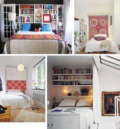 Pretty Pretty Bang Bang: Inspiration: Decorating Small Bedrooms