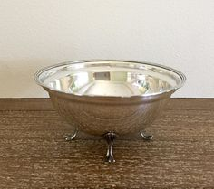 Antique Sterling Silver Footed Bowl Wilcox-Roth by TrouveLaJoie
