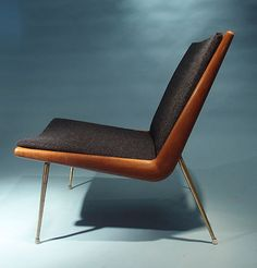 Boomerang Chair by Peter Hvidt & Orla Molgaard Nielsen for France & Daverkosen, 1956 3