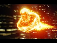 Human Torch (Chris Evans) from Fantastic Four movie