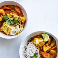 Shrimp Curry with Chickpeas and Cauliflower Recipe - Bon Appétit
