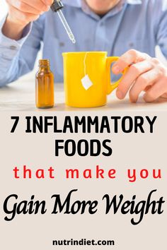 If you are gaining weight and do not know why, despite your efforts to lose. So it may be that these inflammatory foods are leaving your body ready to gain weight. See which inflammatory foods are making you gain weight and learn how to replace them. #inflammatoryfoodstogainweight #inflammatoryfoodstovoid #foodsthatcauseinflammation Gain Weight Fast, Weight Loss, Inflammatory Foods, Make It Yourself, Diet, Learning, How To Make, Loosing Weight, Study