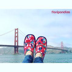 #puente#rojo#floripondias#viaje#san francisco
