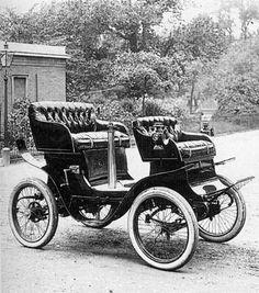 PRIMER AUTOMOVIL EN ARGENTINA 1887