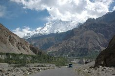 KE 2014 Photo Calendar Competition. Photo taken by Rick Flatt on the Karakoram Highway in Pakistan with Rakaposhi clearly visible from the road.