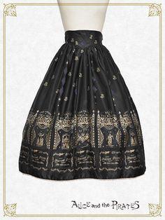 Lady Vanessa's Fortune Teller Box Long Skirt