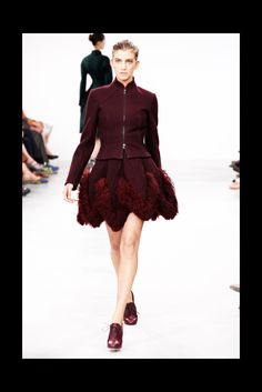 Azzedine Alaïa Fall 2011 Couture Fashion Show - Caterina Ravaglia (IMG)